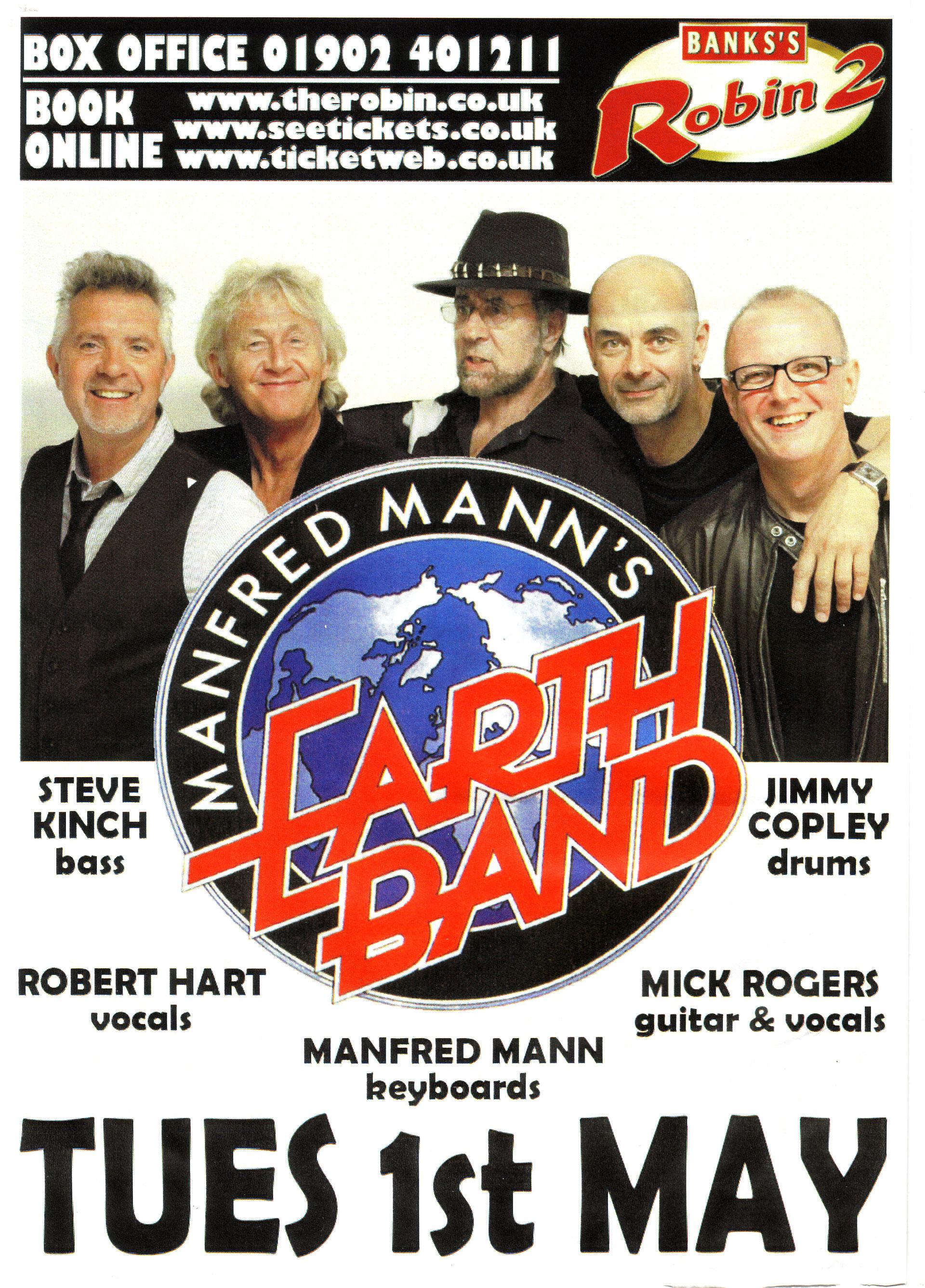 manfred mann tour dates)