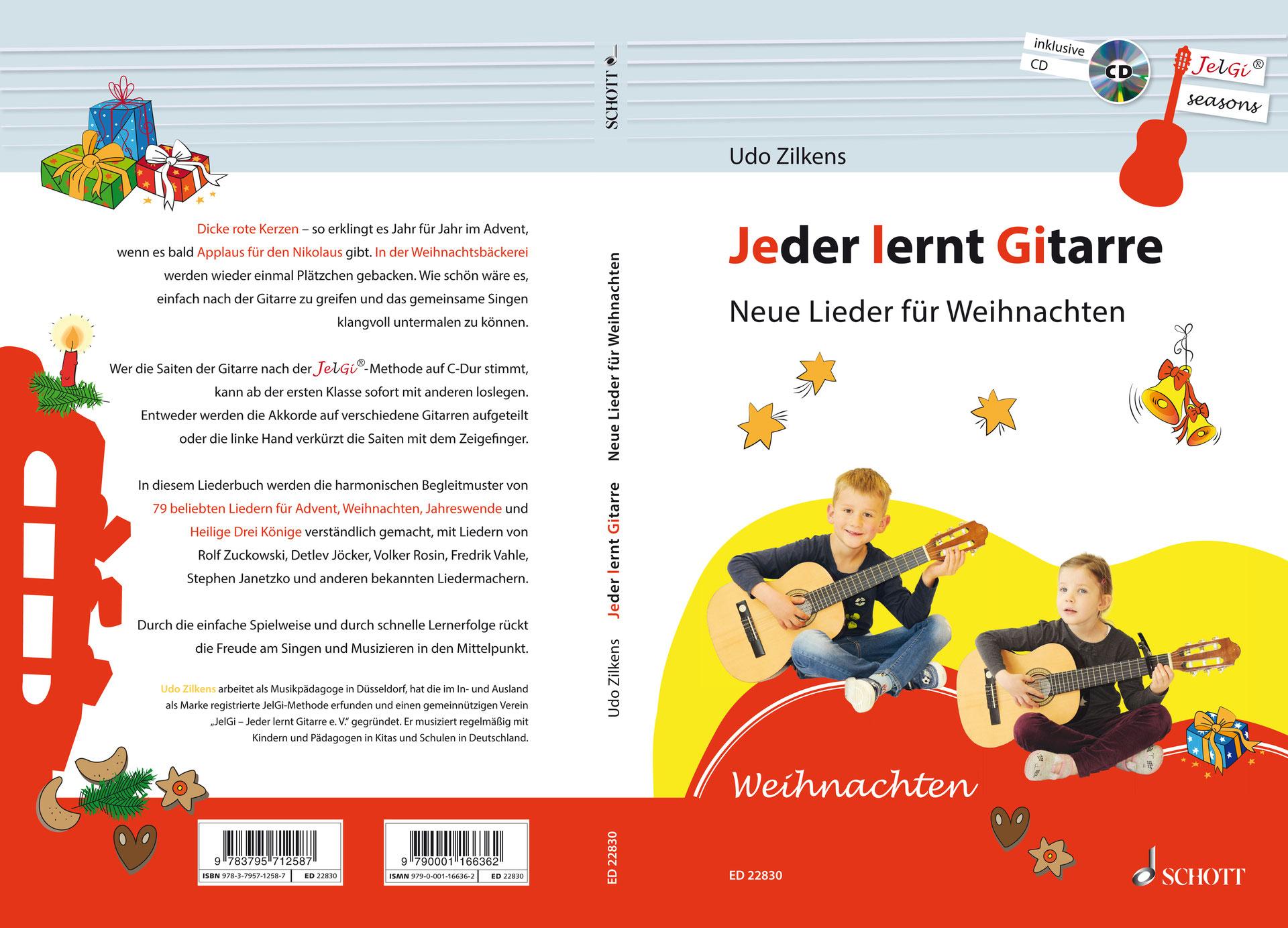 Neue Lieder fuer Weihnachten - JelGi