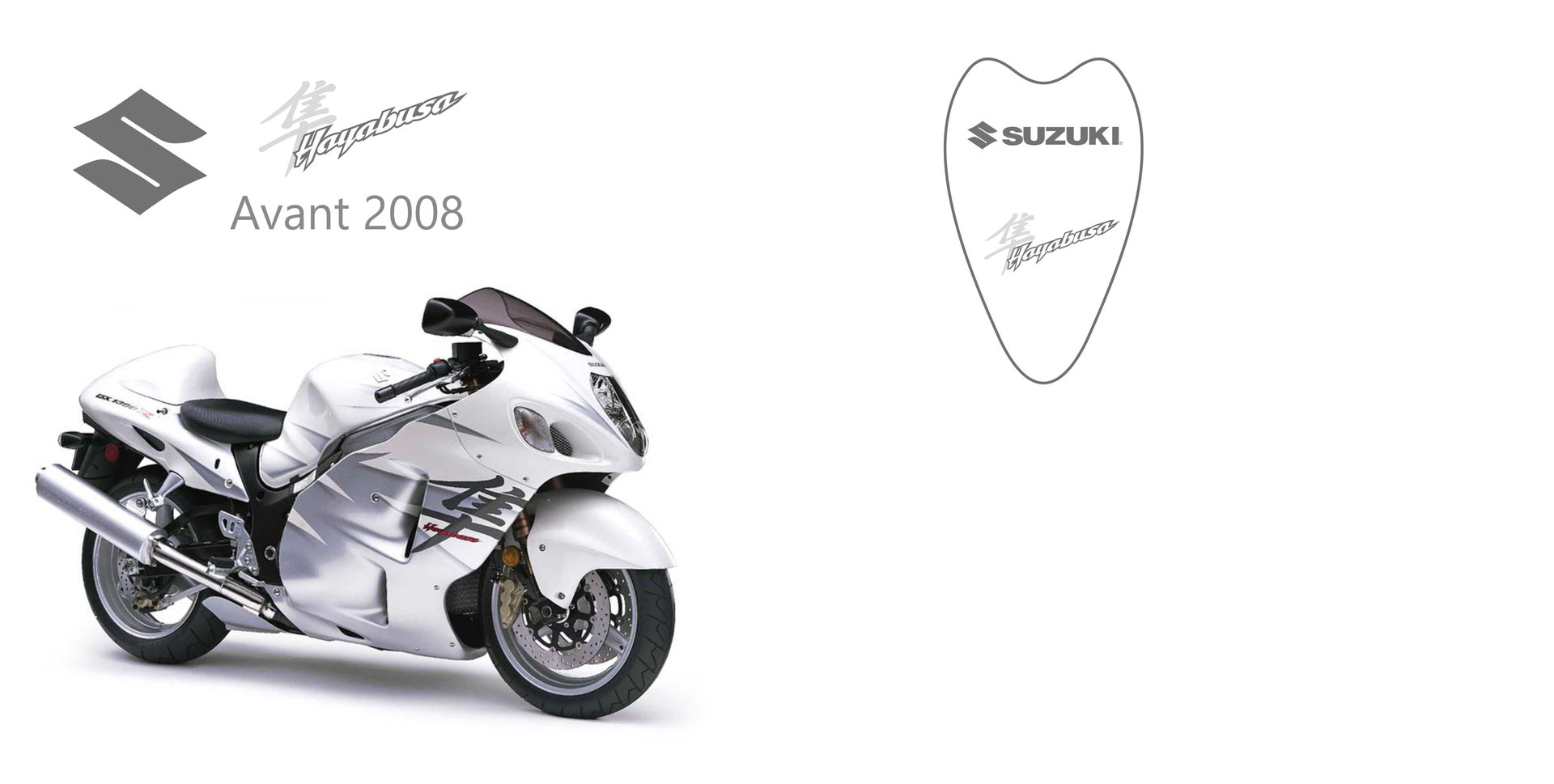 suzuki gsx 1300 r hayabusa avant 2008