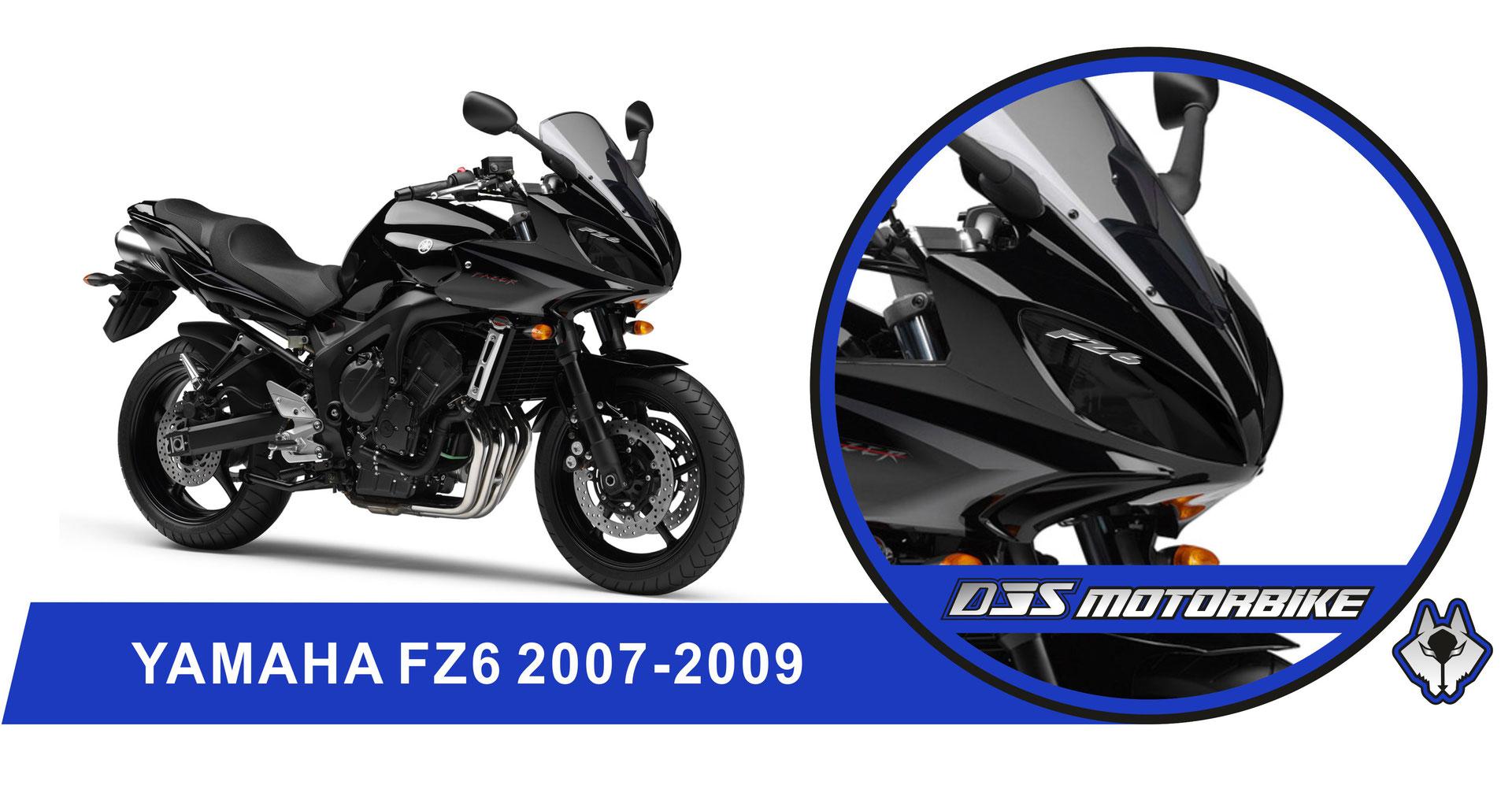 yamaha fz6 600 fazer s2 2007-2009