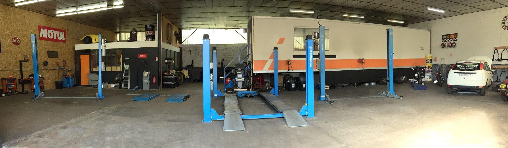 Altermeca centre de montage self garage atelier vw classic for Taux horaire garage volkswagen