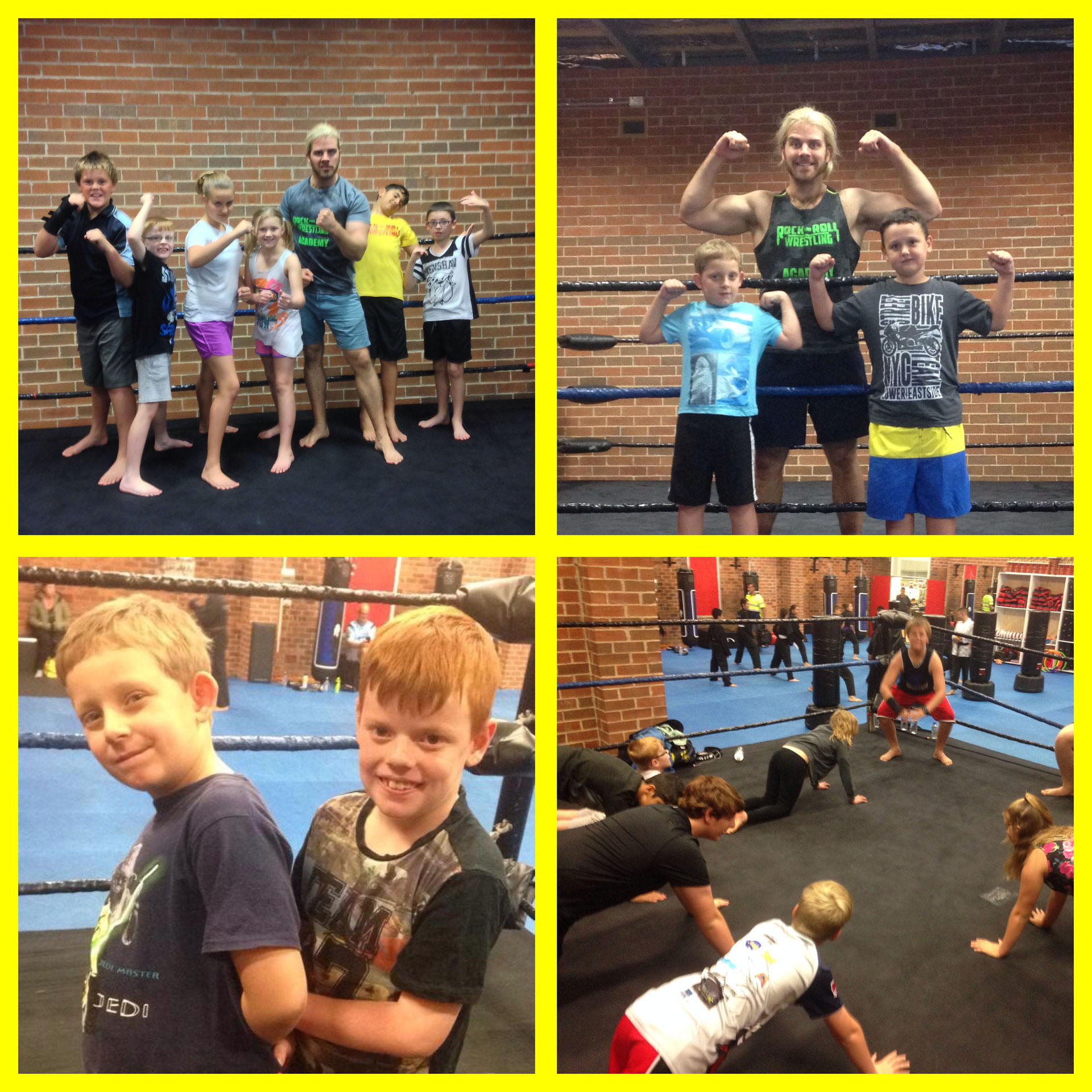 Wrestling School - Rock and Roll Wrestling