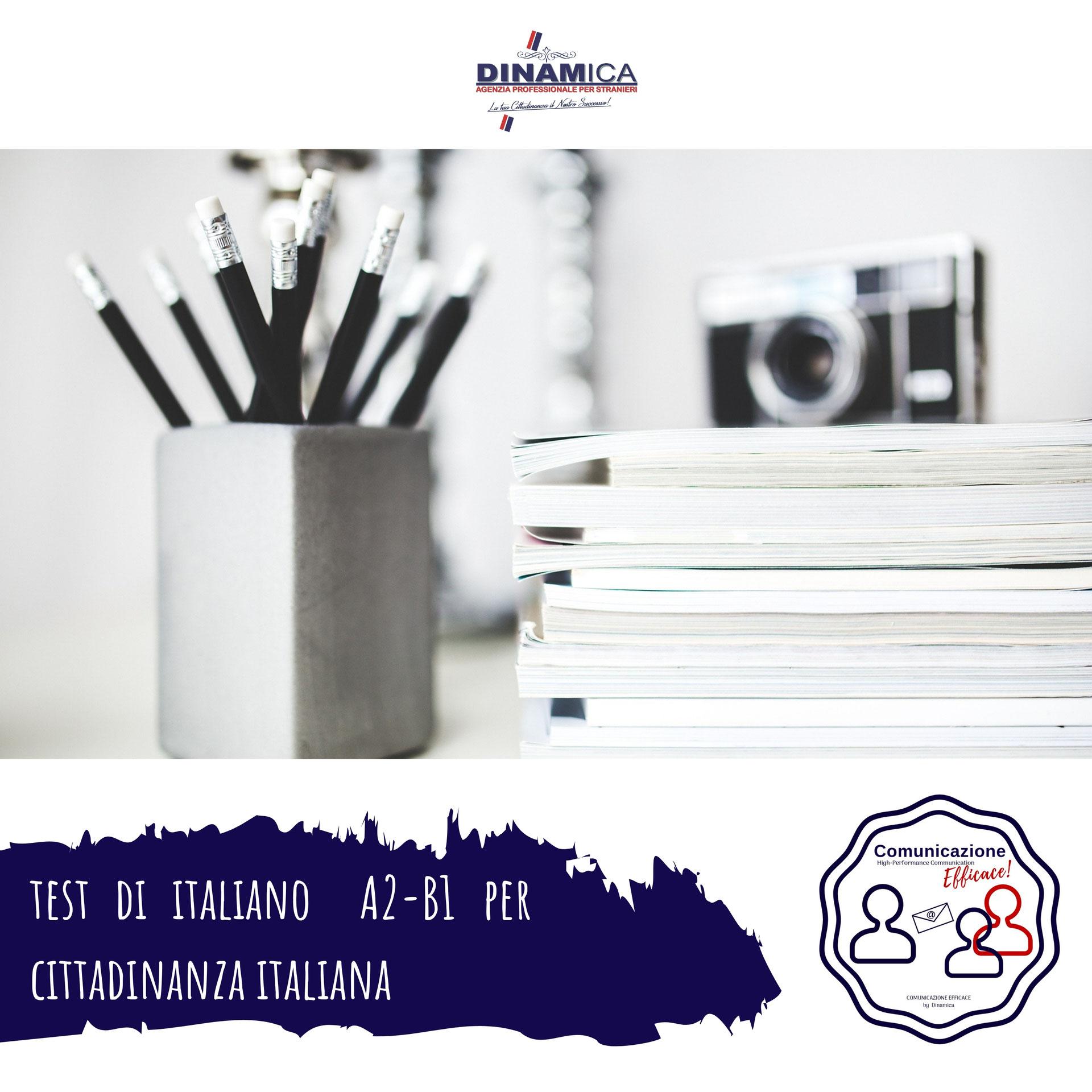 test italiano per Stranieri|Agenzia DINAMICA - Rinnovo ...