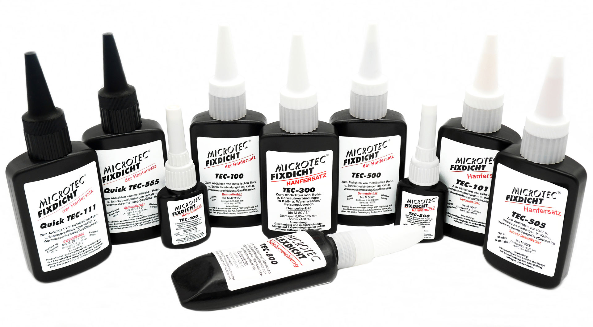 Bevorzugt Fixdicht™ Gewindedichtmittel - Microtec GmbH HU91