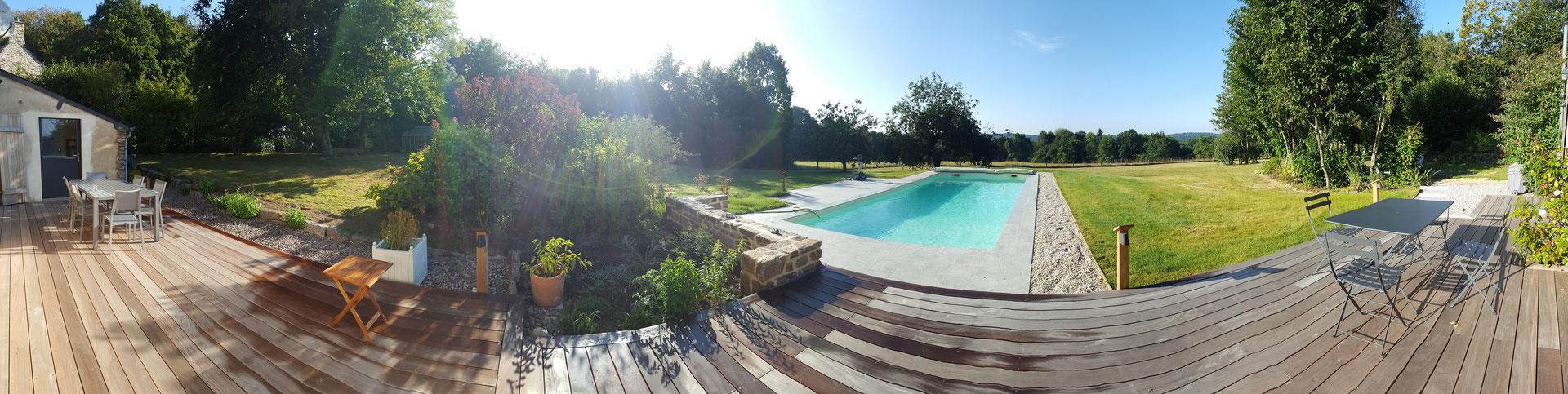 plan du site chambres d 39 h tes avec piscine chauff e rochefort en terre sud morbihan. Black Bedroom Furniture Sets. Home Design Ideas