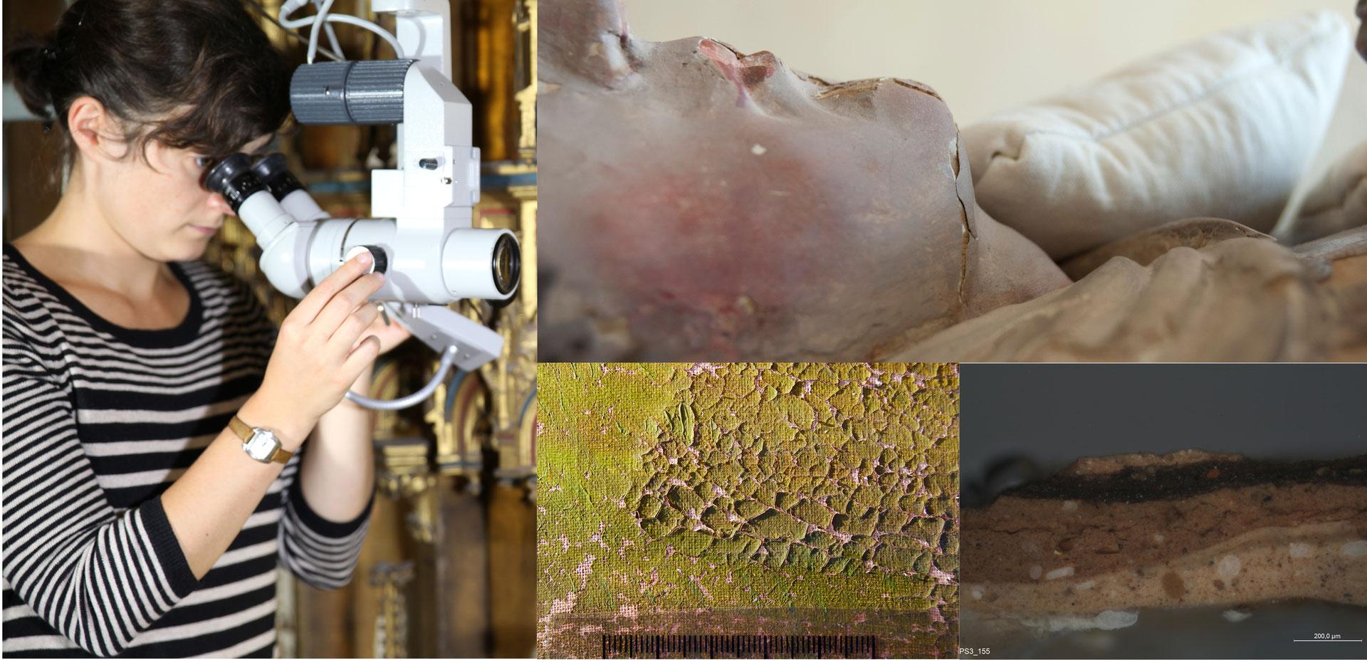 konservierung und restaurierung von gem lden und. Black Bedroom Furniture Sets. Home Design Ideas