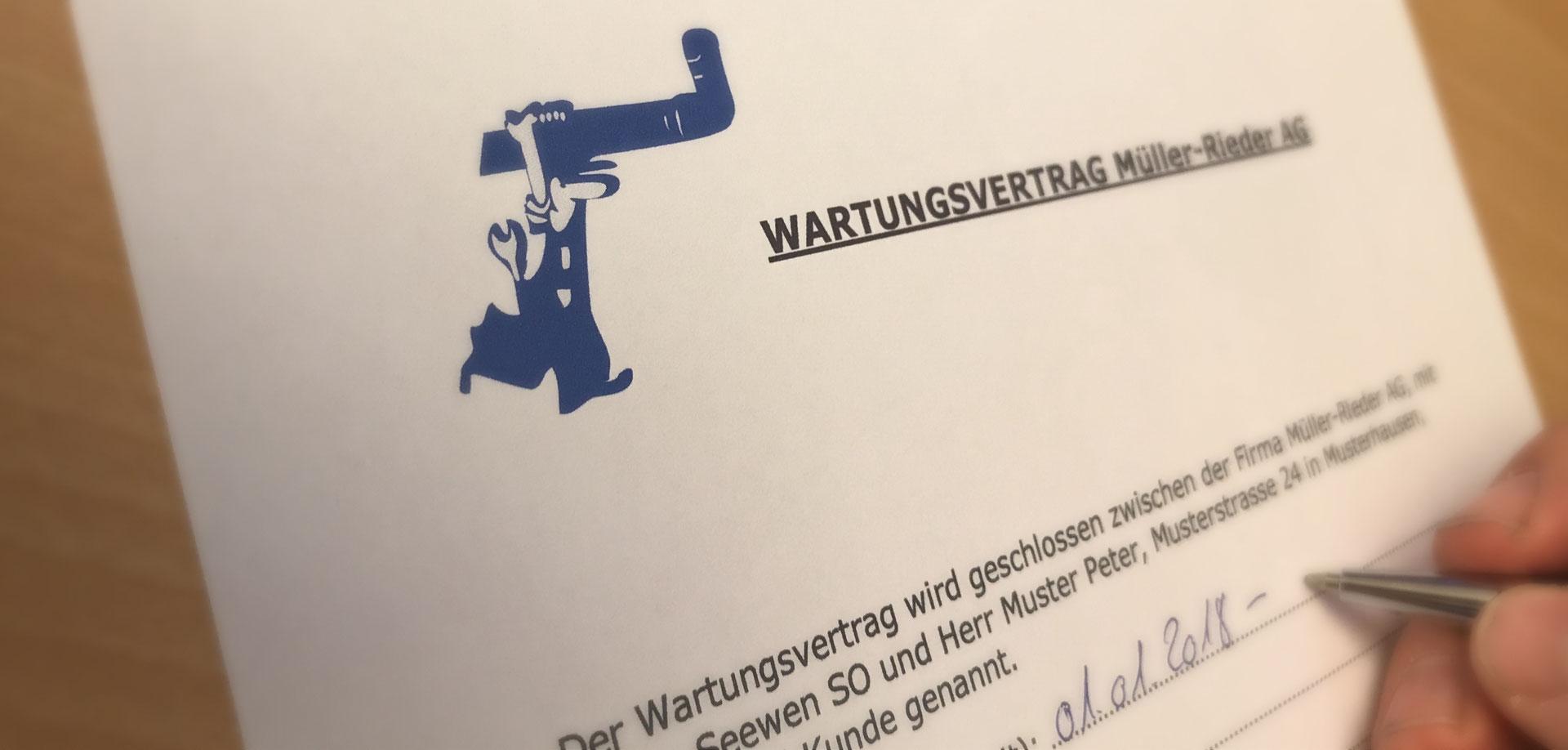 Groß Vorlage Für Persönlichen Servicevertrag Fotos ...