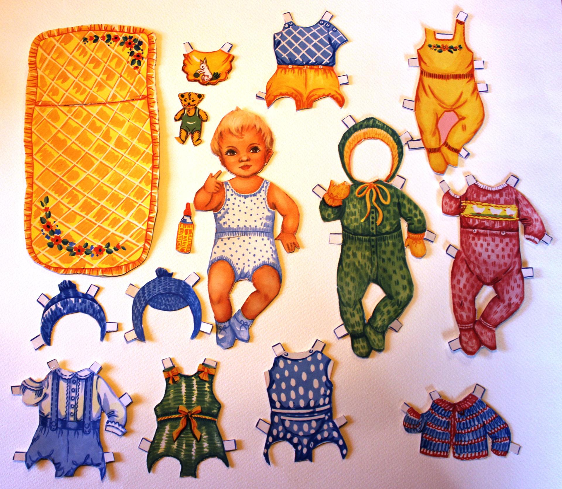 Paper Dolls 50s 6