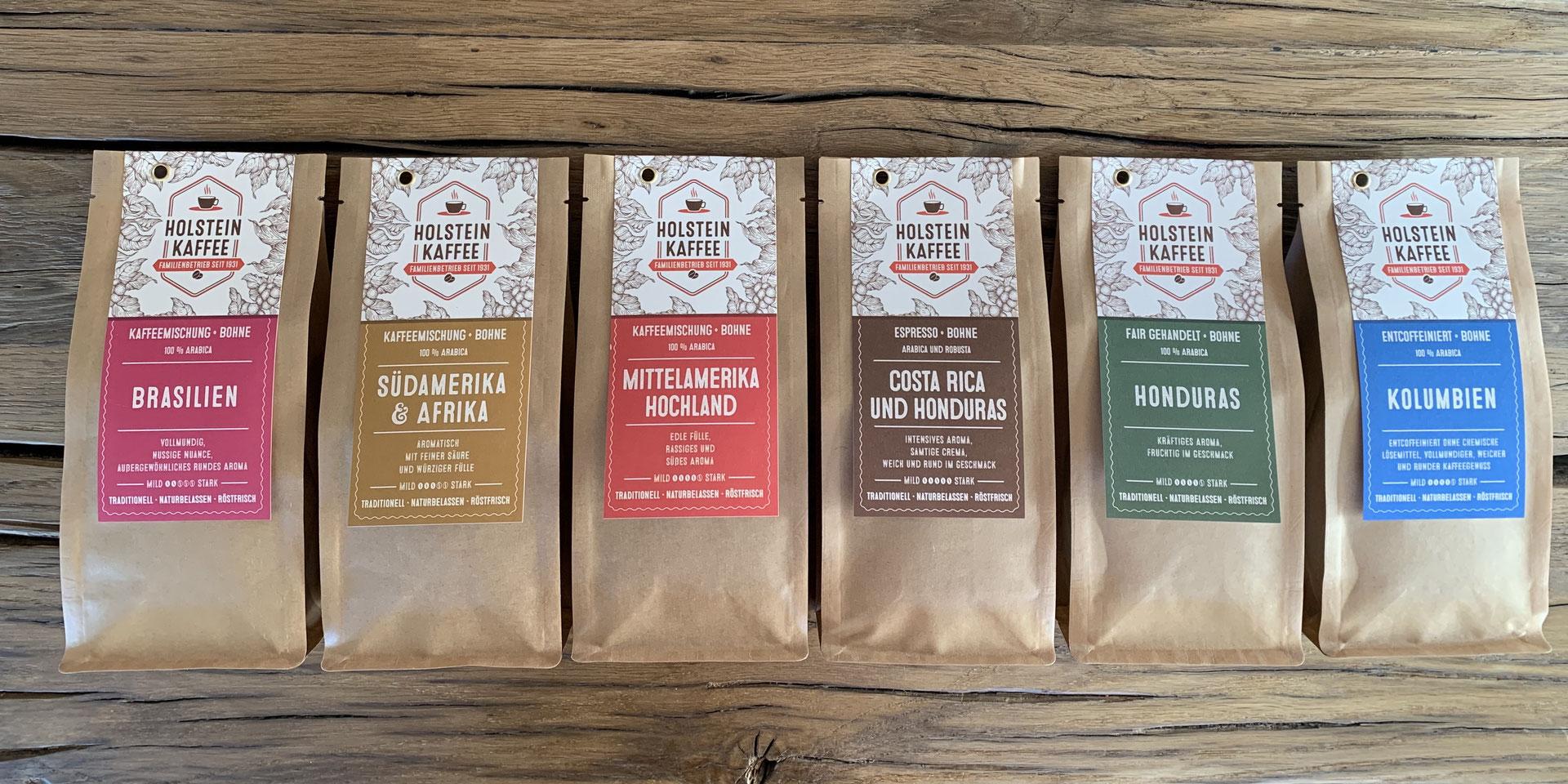 Individuelle röstfrische Lieferung - Holstein Kaffee Kaffeerösterei ...