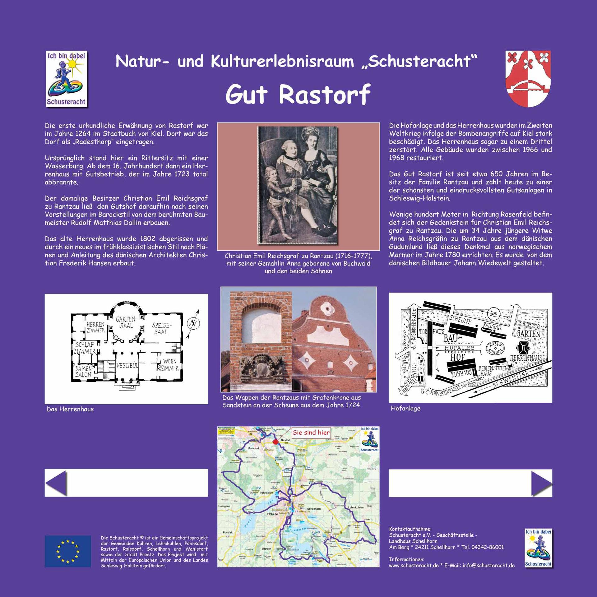 Bekannt Gut Rastorf - Schusteracht Preetz LQ36