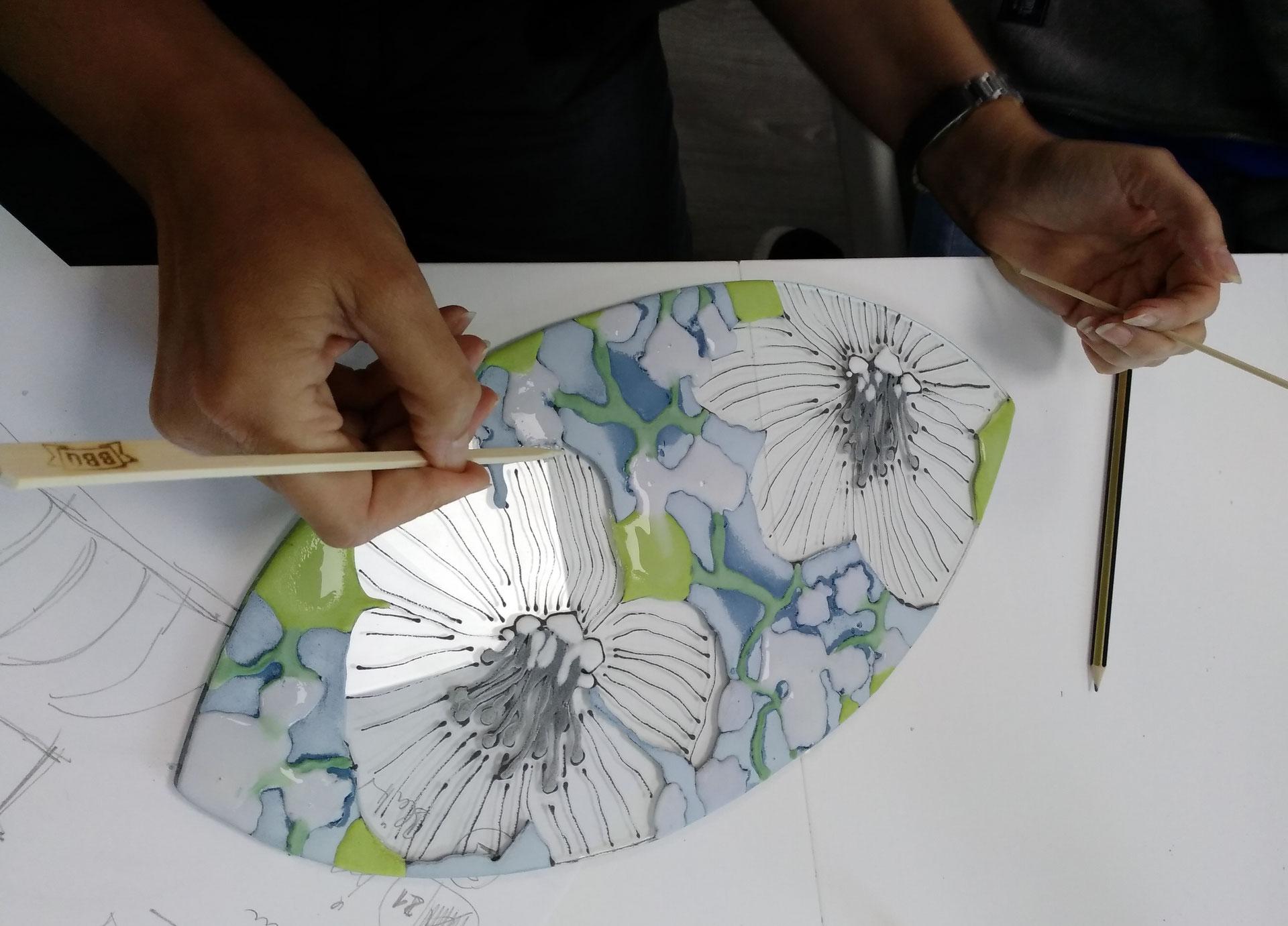 Venus Glasmalerei Design Malvorlagen Glass