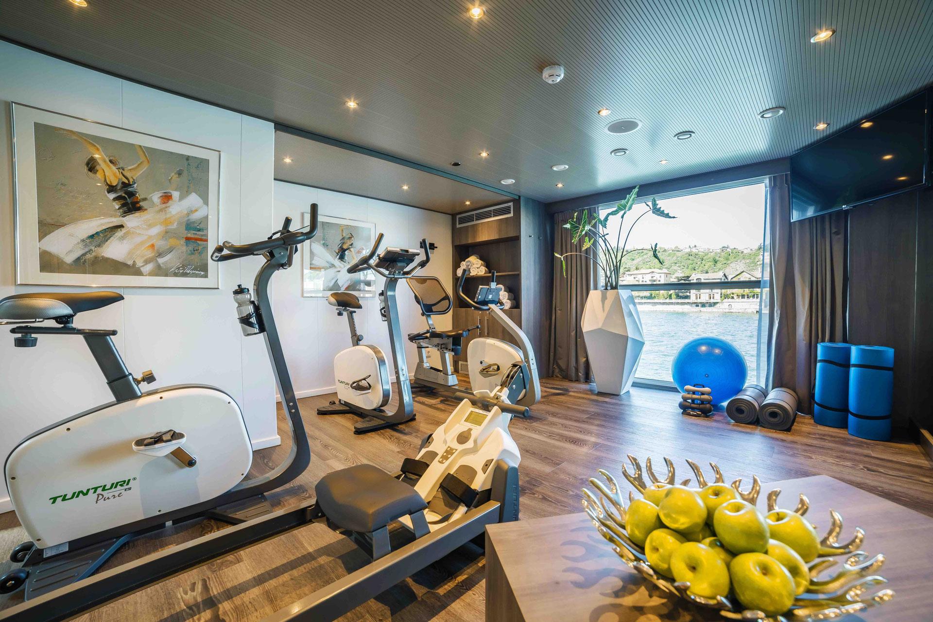 Amadeus Provence Fitnessraum
