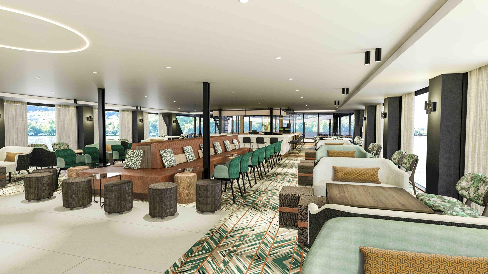 nickoSPIRIT Panorama Lounge mit Bar