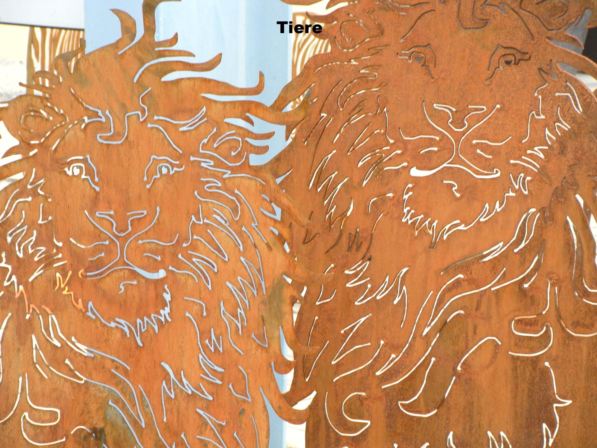 Edel rost helenahutters webseite for Metallkugeln garten rost