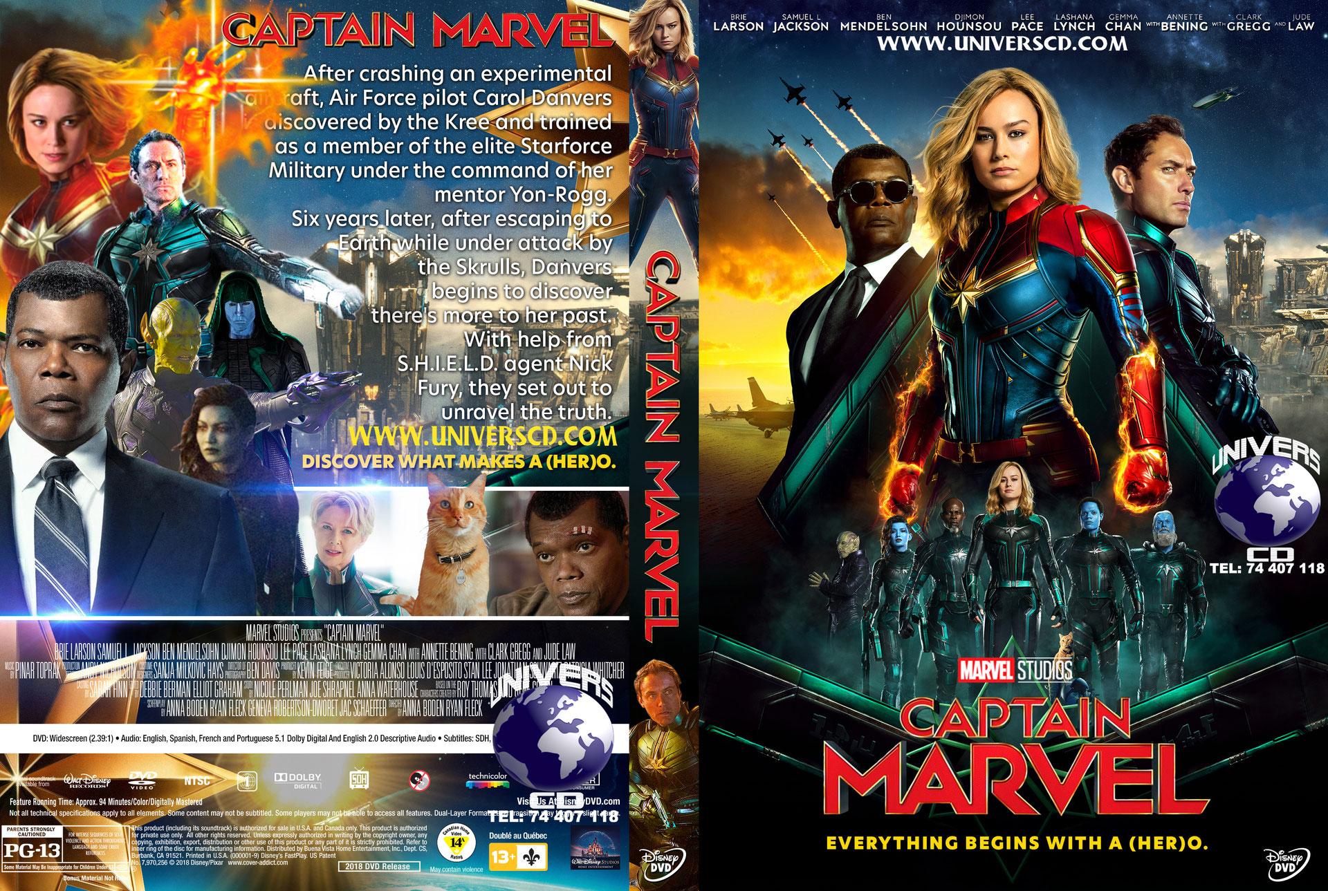 Captain Marvel Steam