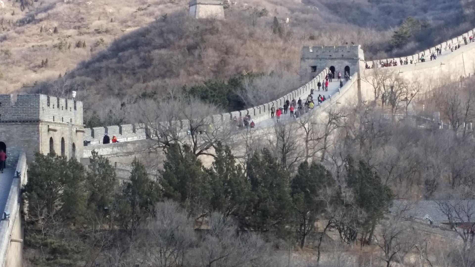 China Tag 4 Chinesische Mauer Peking Reiseberichte Tipps