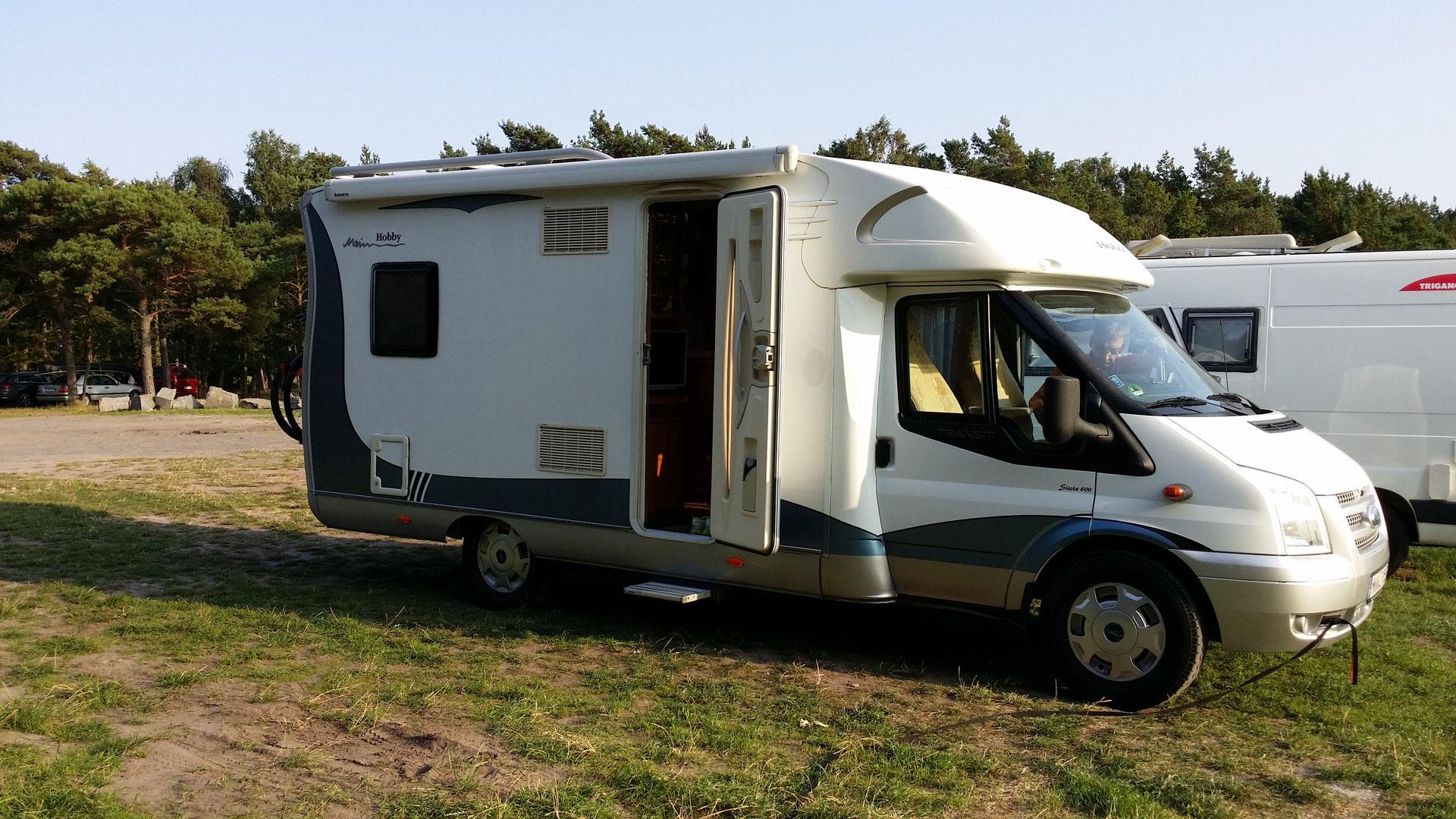 Die Gemeinschaft der Alleinstehenden: 35 Single-Camper kamen mit Wohnmobilen nach Kreuzlingen