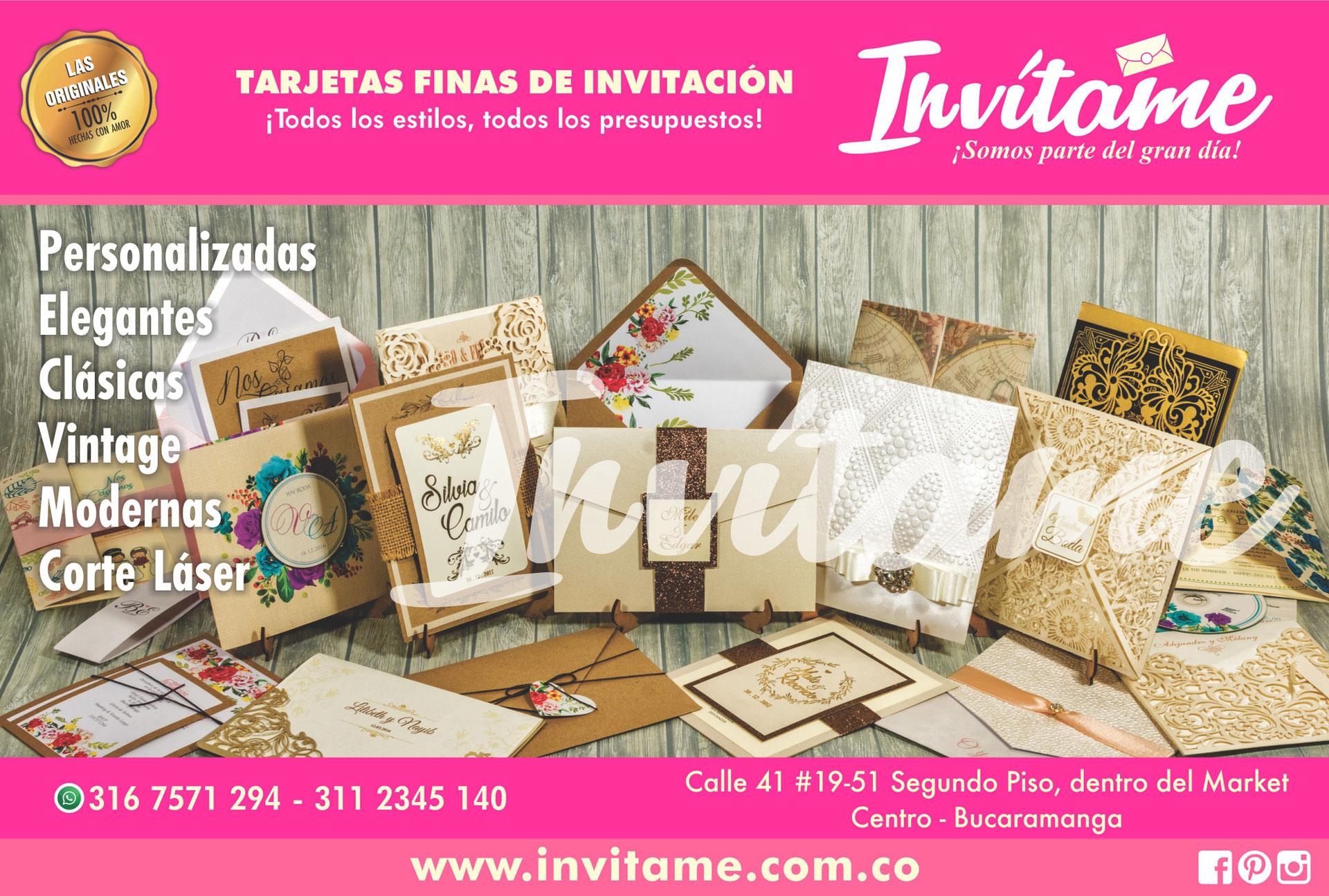 Mapa Del Sitio Tarjetas De Invitación Bucaramanga Colombia