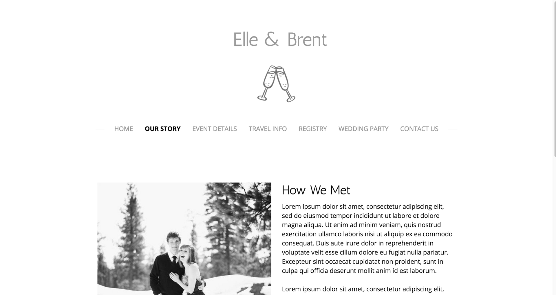 Wedding Websites Ideas: Create A Wedding Website: Templates & Ideas