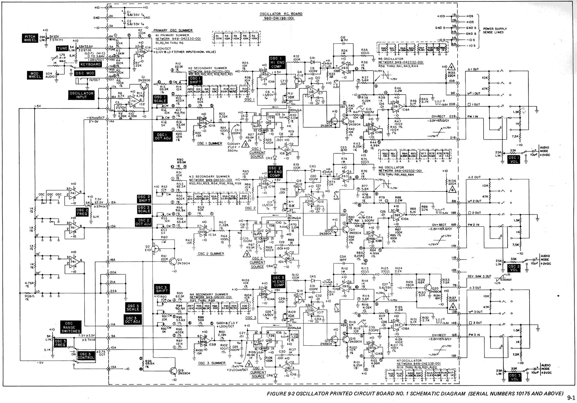 OSC SCHALTPLAN IM DETAIL - DIY Synth