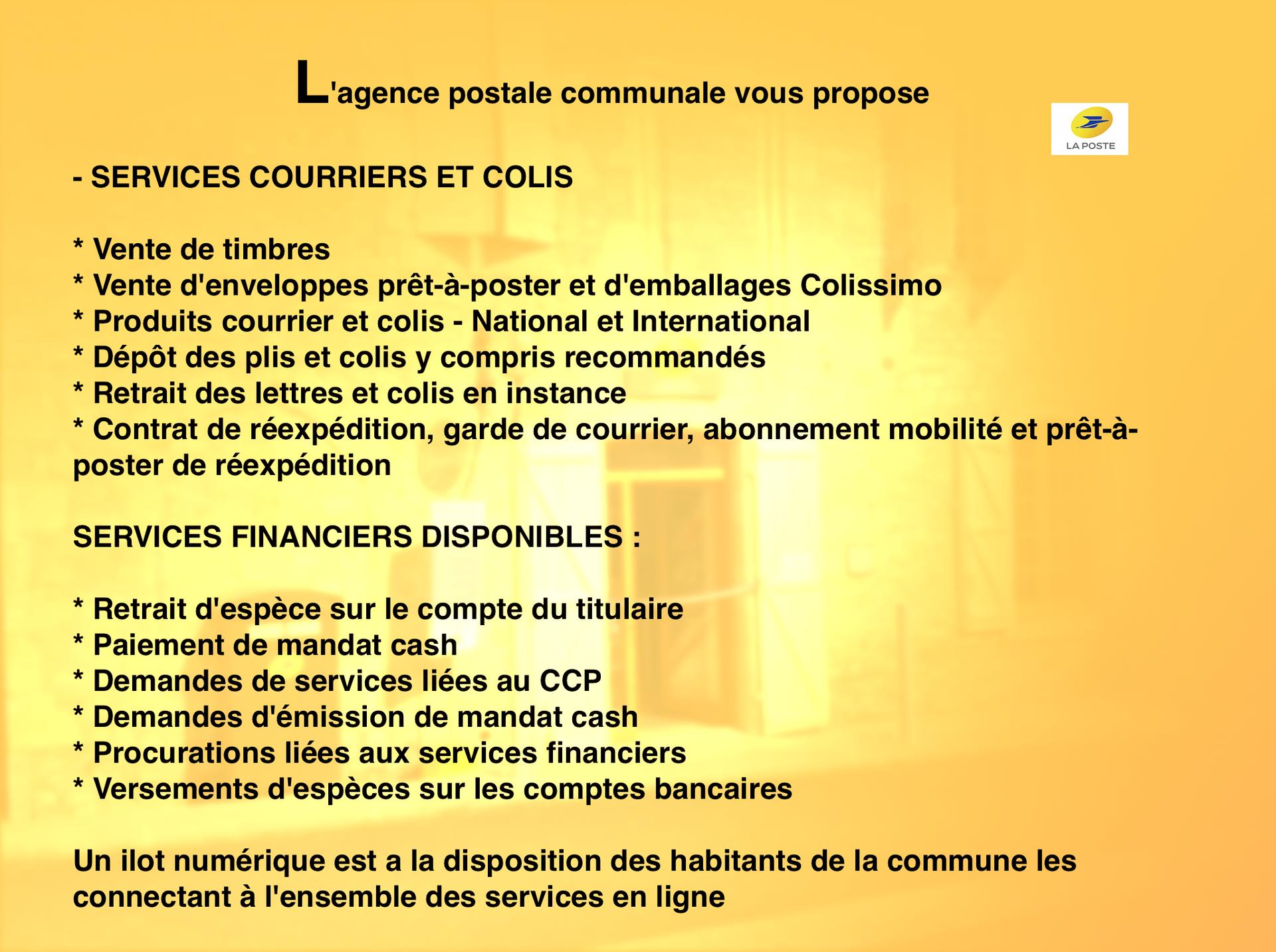 Inauguration De L Agence Postale Communale De Carlucet