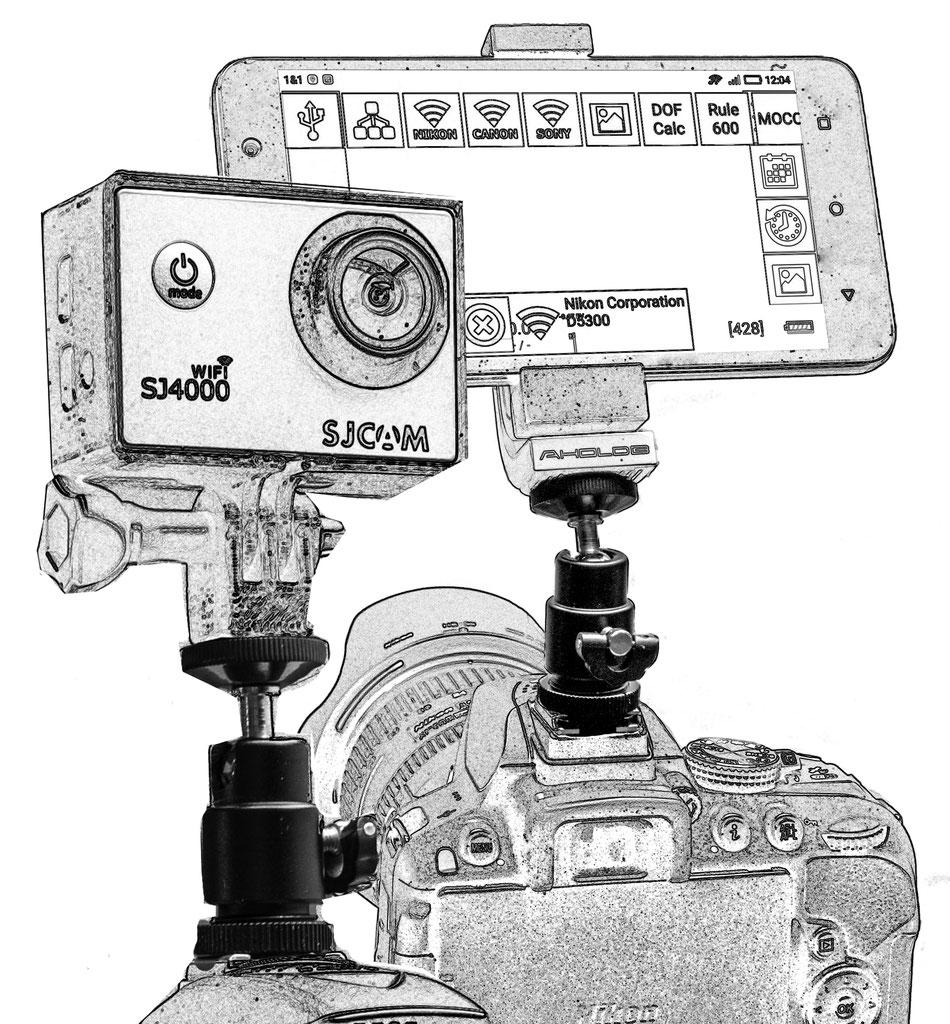 """Blitzschuhadapter mit 1/4"""" Stativgewinde - fotografische ..."""