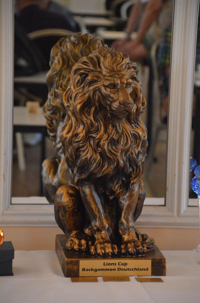 5 lions cup vom 31 8 3 deutscher backgammon. Black Bedroom Furniture Sets. Home Design Ideas