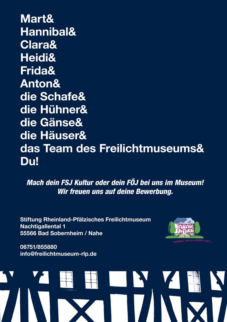 freiwilligendienste im freilichtmuseum rheinland pflzisches freilichtmuseum - Fsj Kultur Bewerbung