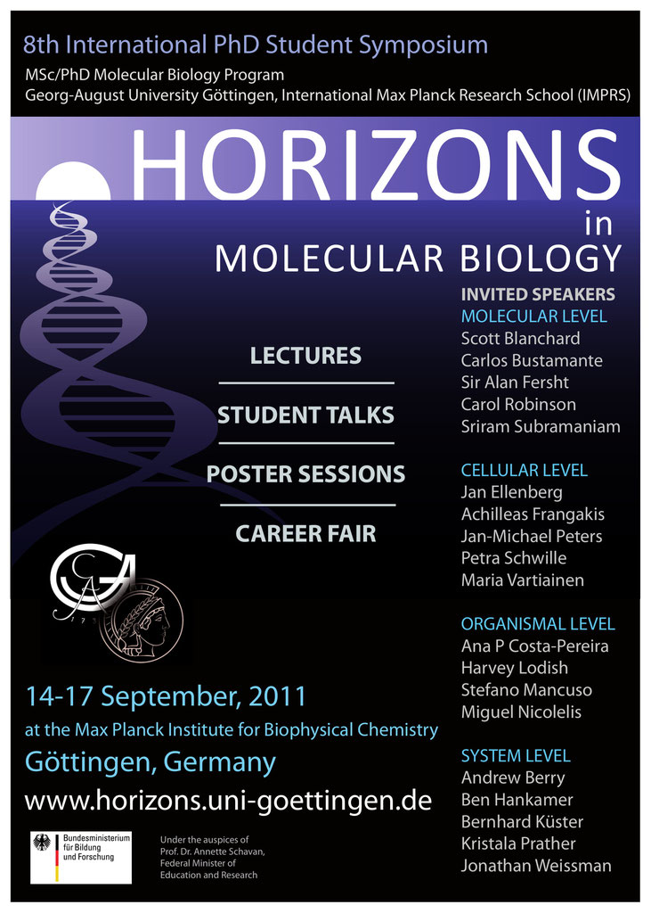 The 8th Horizons in Molecular Biology Symposium - Horizons