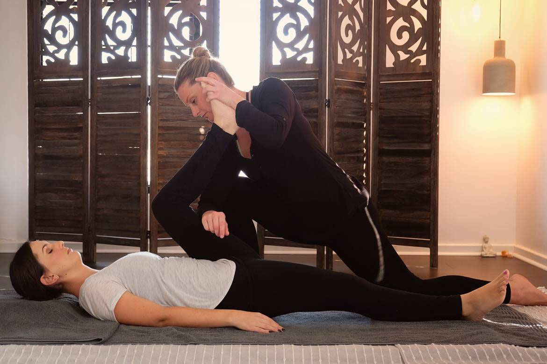 Thai Yoga Massage Course - Shen Mantra Training