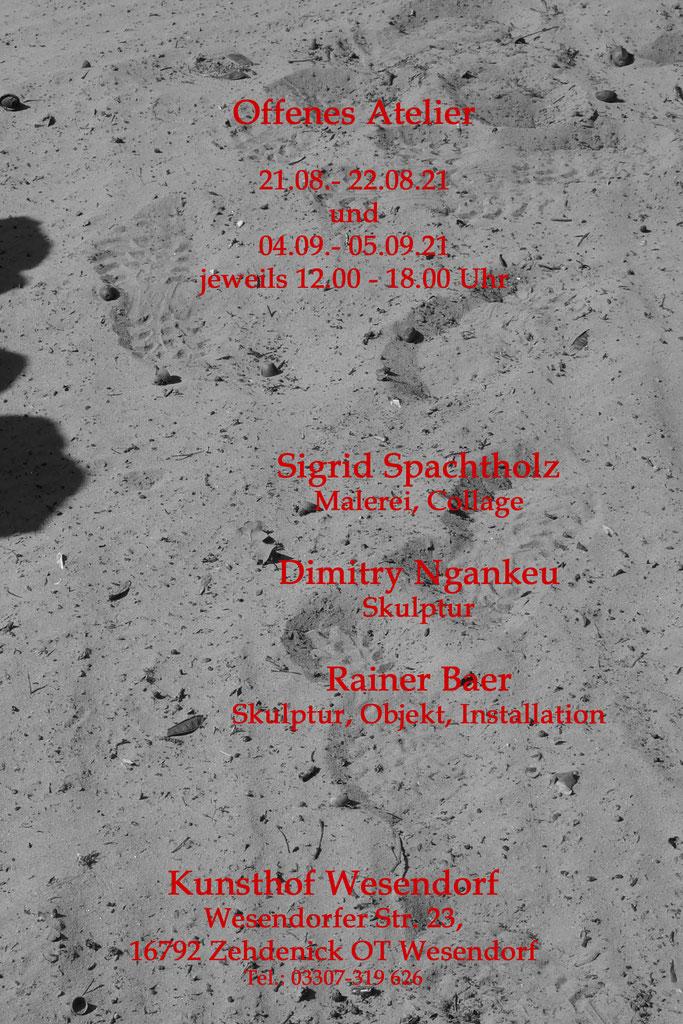 Offenes Atelier 2021 - Atelier Rainer Baer