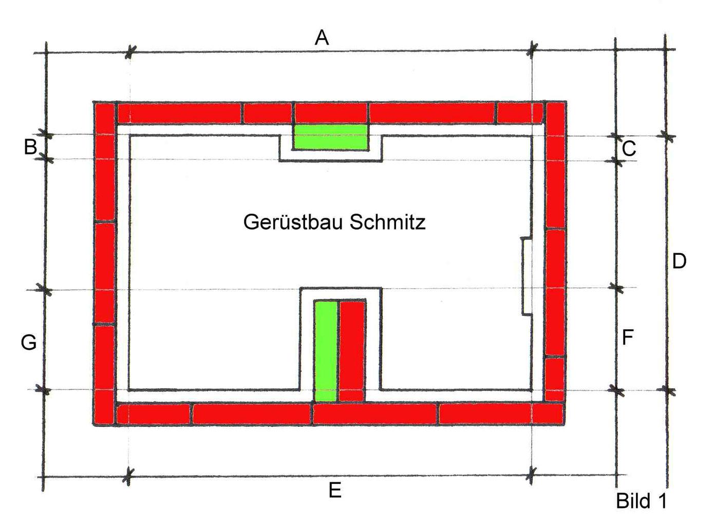 Super Abrechnung nach DIN 18451 - Gerüst Fassadengerüst Gerüstbau KW81