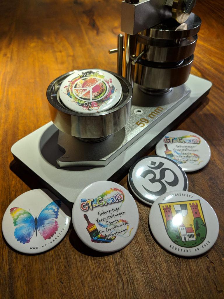 Buttons Ohne Maschine