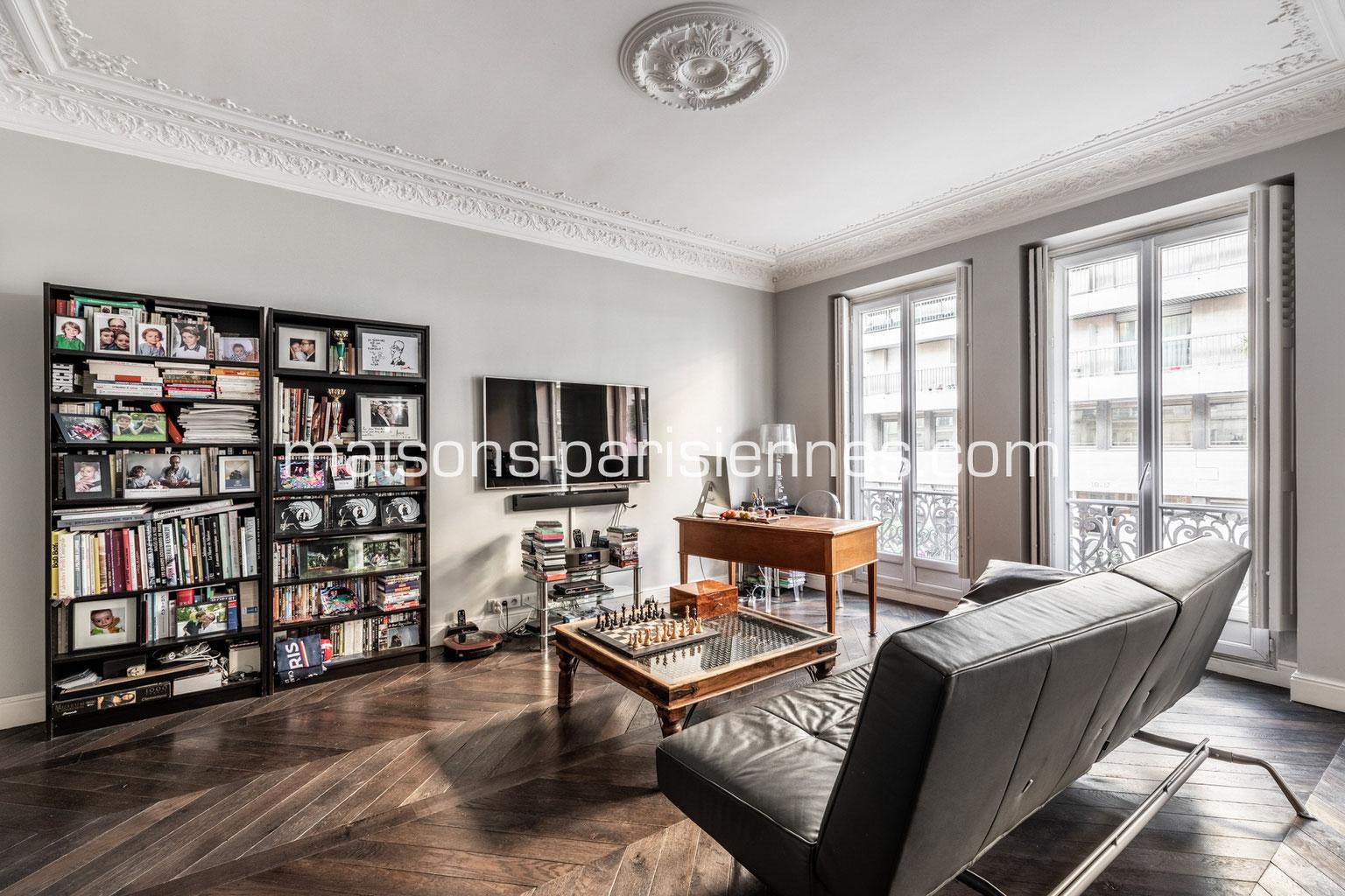 acheter paris et ses environs maisons parisiennes immobilier de charme paris. Black Bedroom Furniture Sets. Home Design Ideas