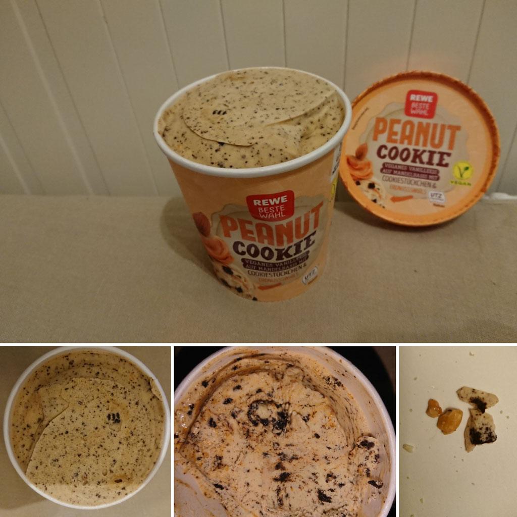 Rewe Peanut Cookie   zuckerwelt im test