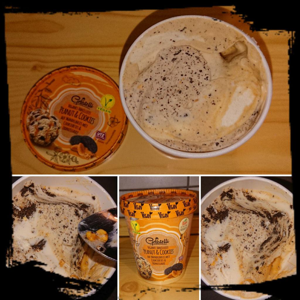 Gelatelli Peanut & Cookies   zuckerwelt im test