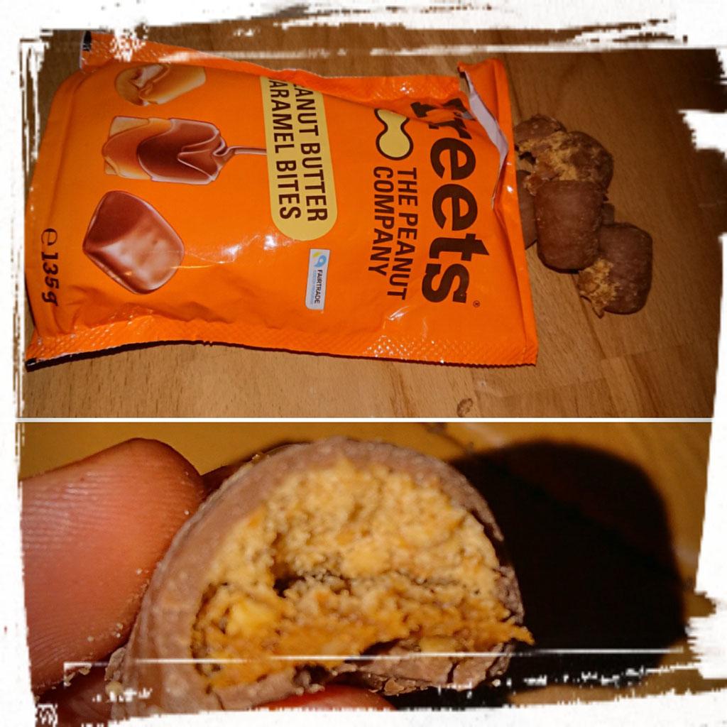 Treets Peanut Butter Caramel Bites   zuckerwelt im test
