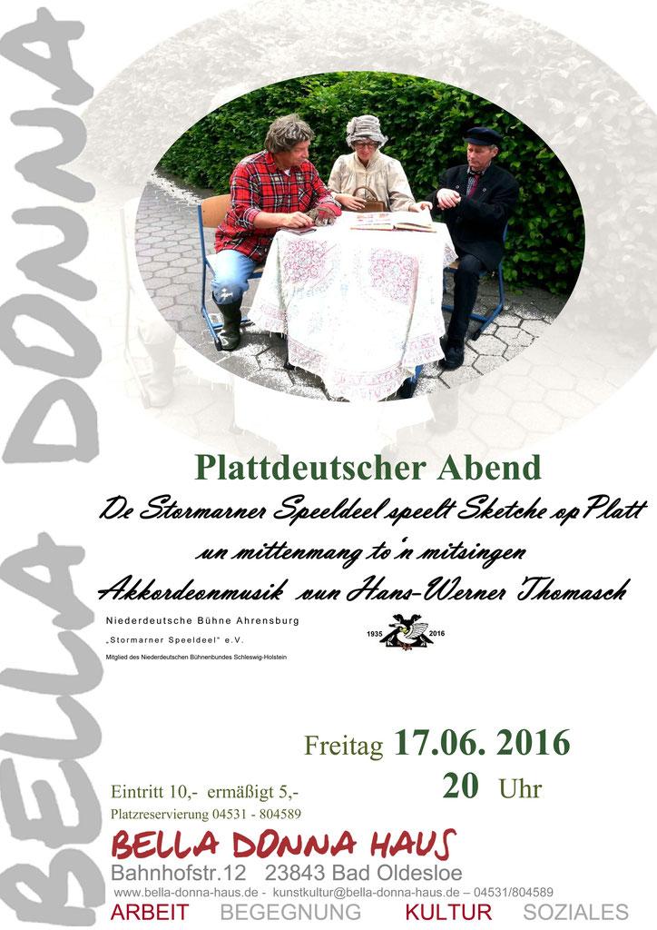 Plattdeutscher Abend - BELLA DONNA - Ein Haus von Frauen e.V.