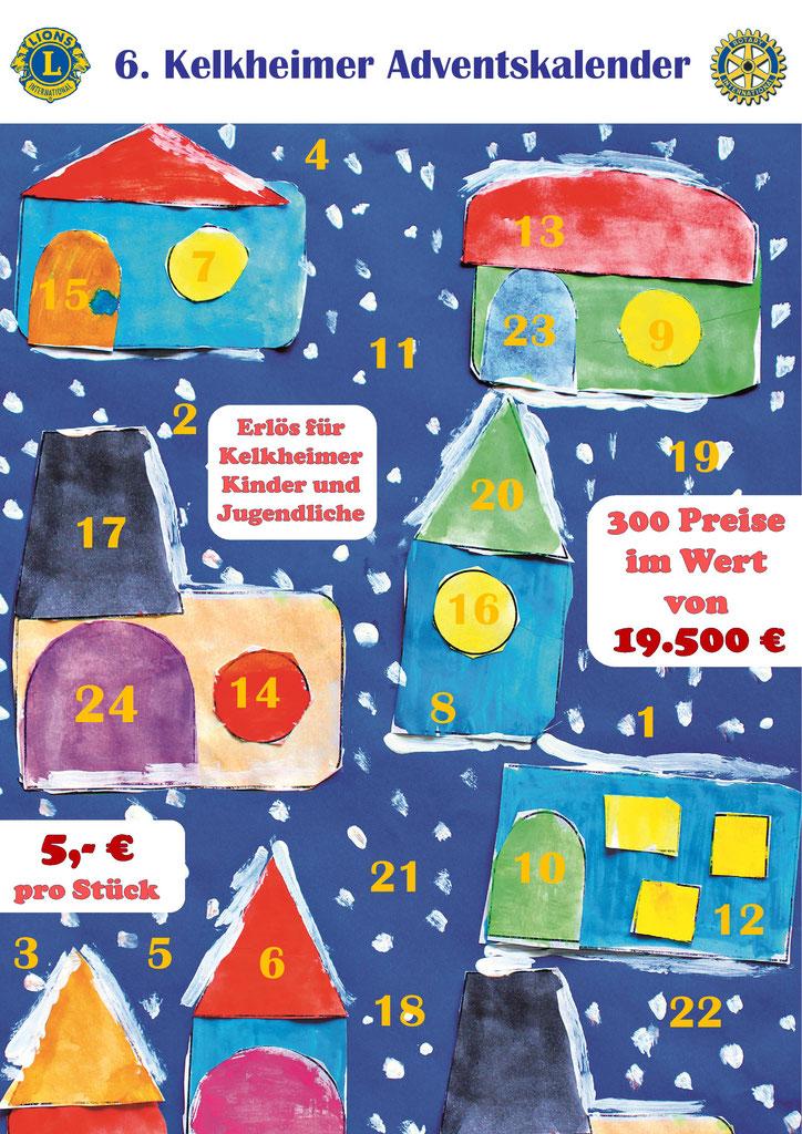Würth Weihnachtskalender.Presseartikel 2017 Lions Club Kelkheim
