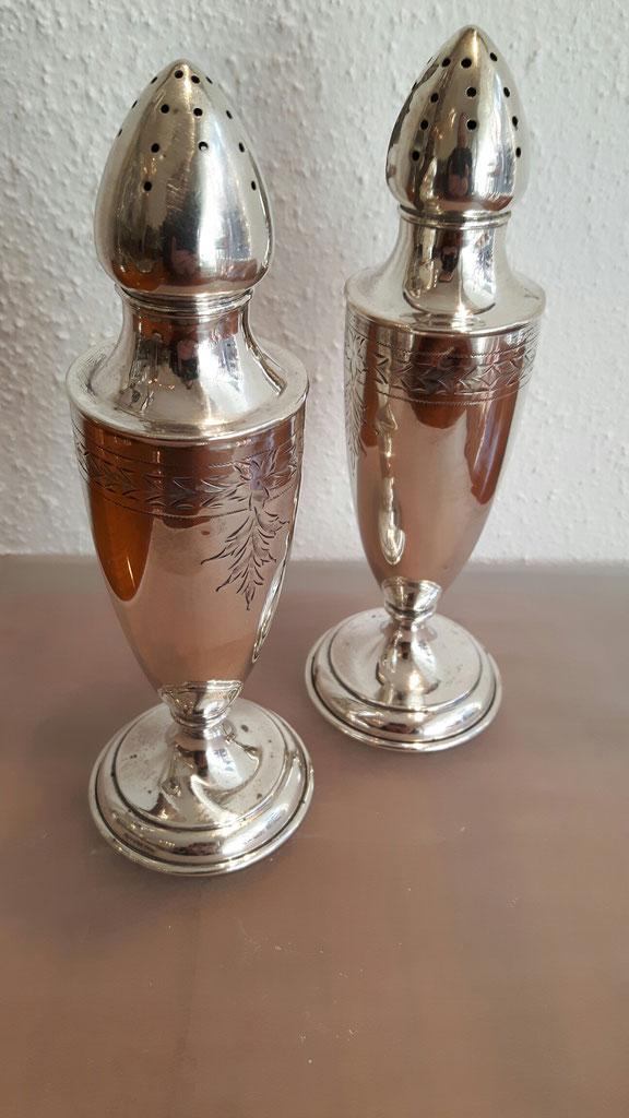 salz pfefferstreuer 3 biedermeier antiquit ten herber. Black Bedroom Furniture Sets. Home Design Ideas