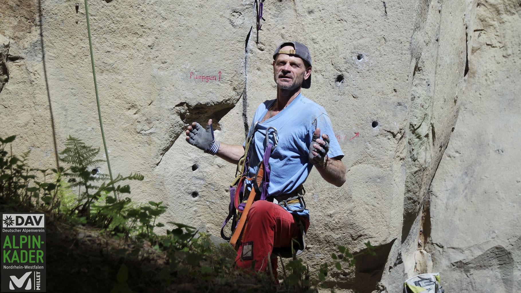 Kletterausrüstung Dav : Die kunst des materialkampfes dav alpinkader nrw