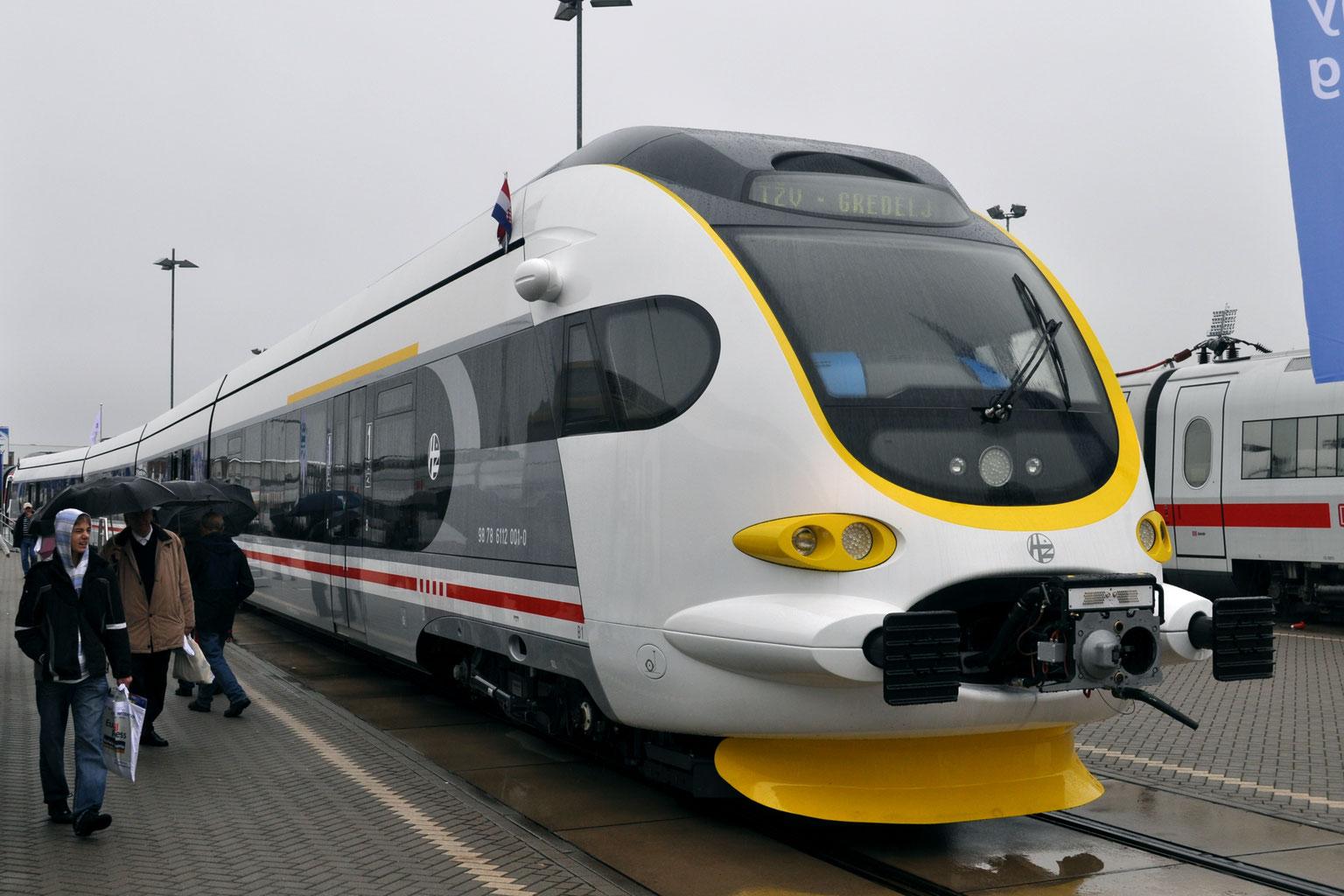 Железнодорожники Хорватии работают над увеличением скорости передвижения составов