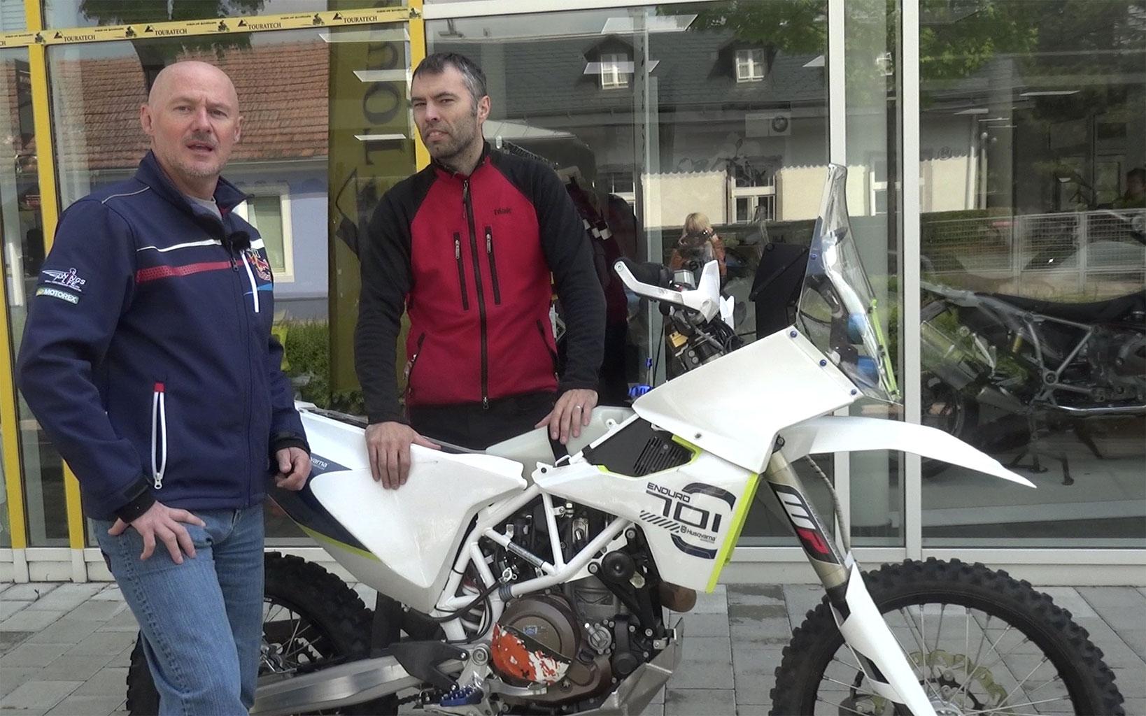 Leistbare Rally-Kits für KTM 690 und Husqvarna 701 - Wolfs private