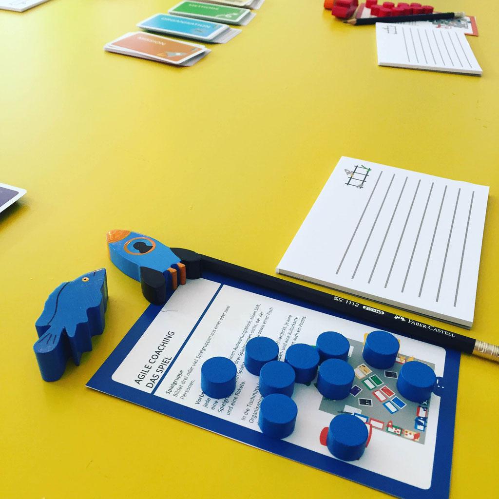 Agile Spiele agile coaching -- das spiel (testspiel 04 + mehr) - beratung