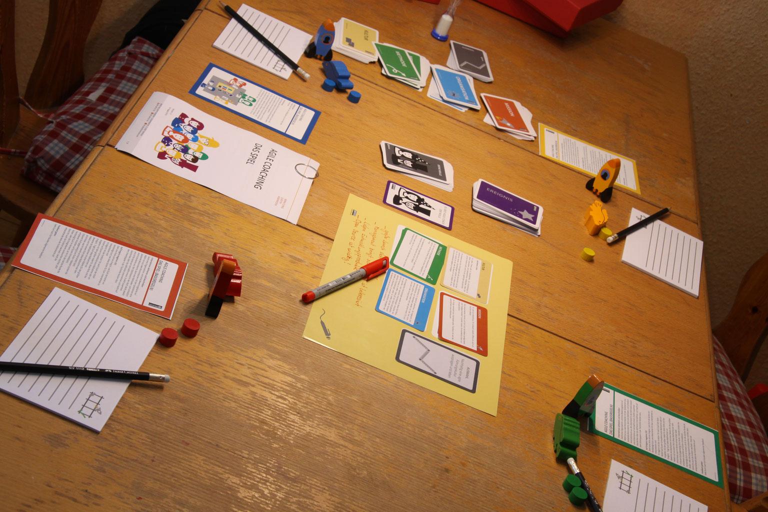 Agile Spiele agile coaching -- das spiel: v1.0 jetzt downloaden