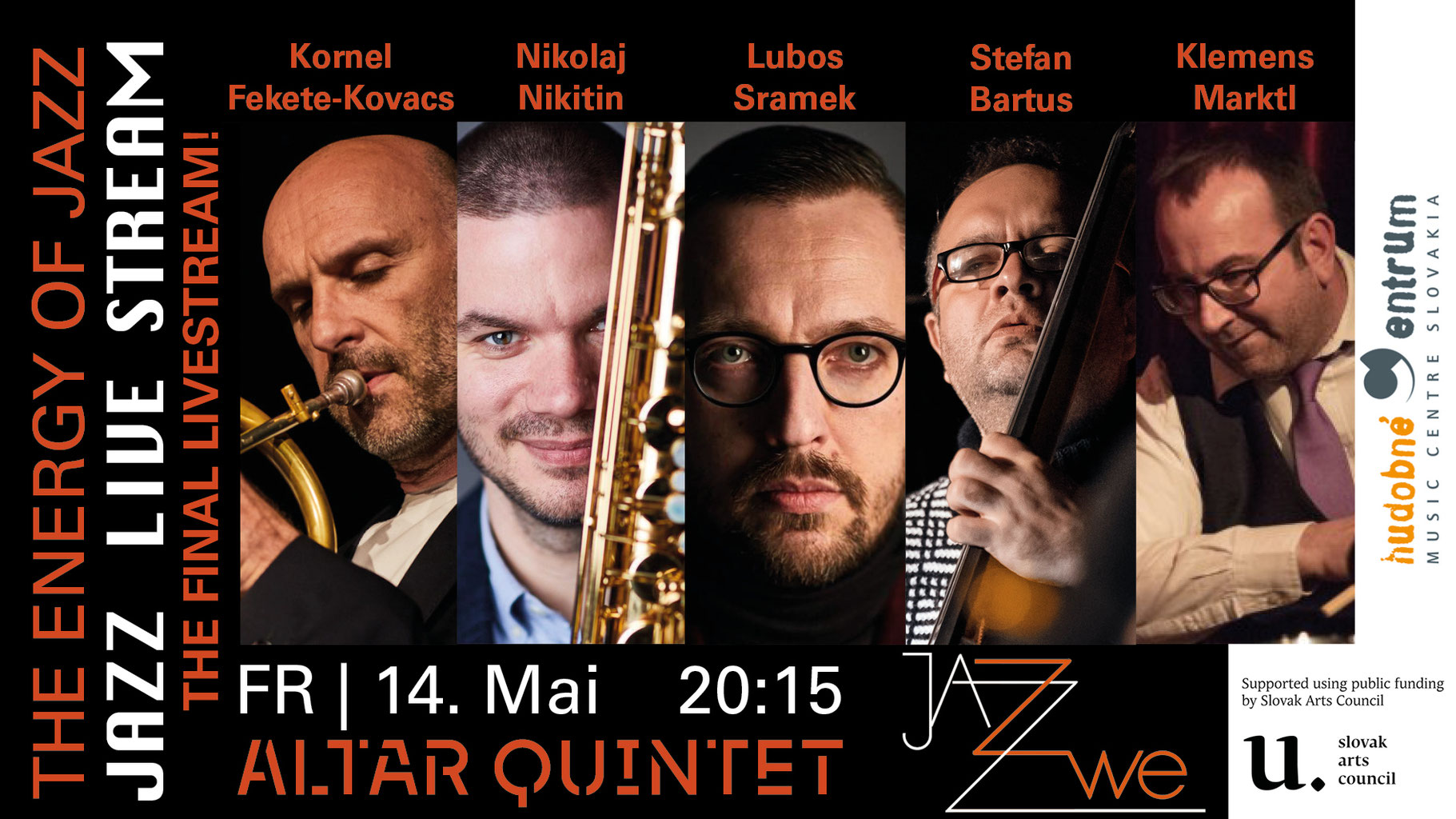 JAZZ LIVE STREAM   Jazzclub ZWE