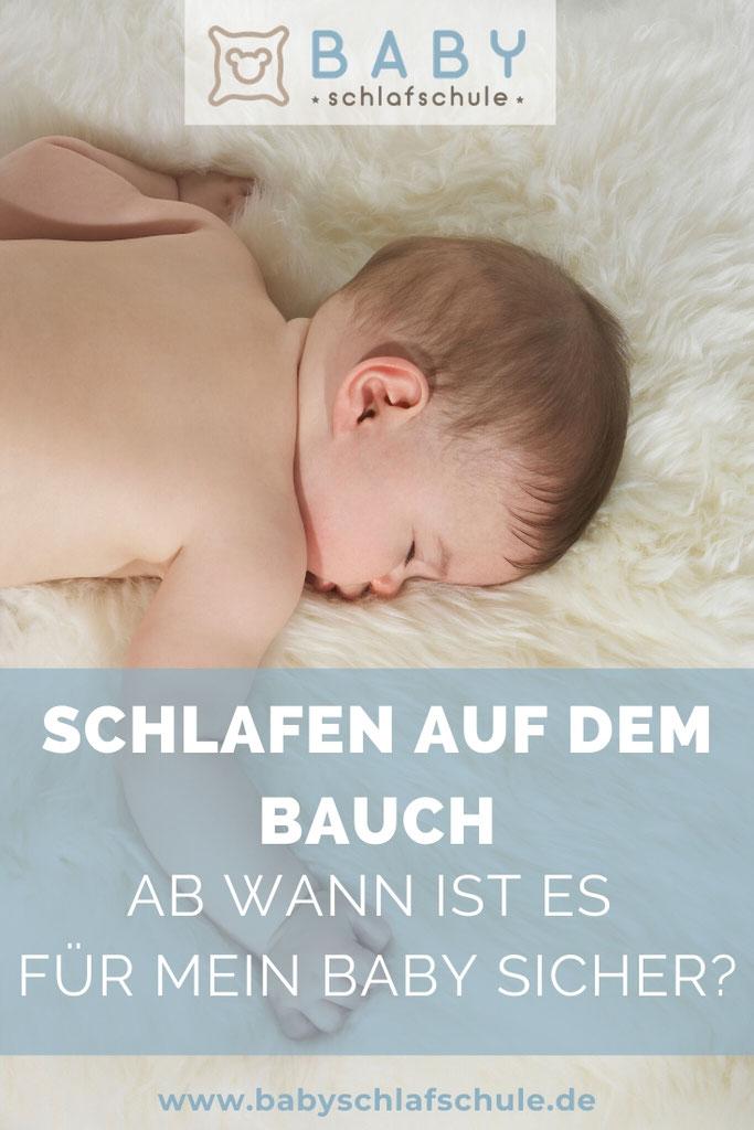 Baby Dreht Sich Im Schlaf Auf Den Bauch Aber Nicht Zurück
