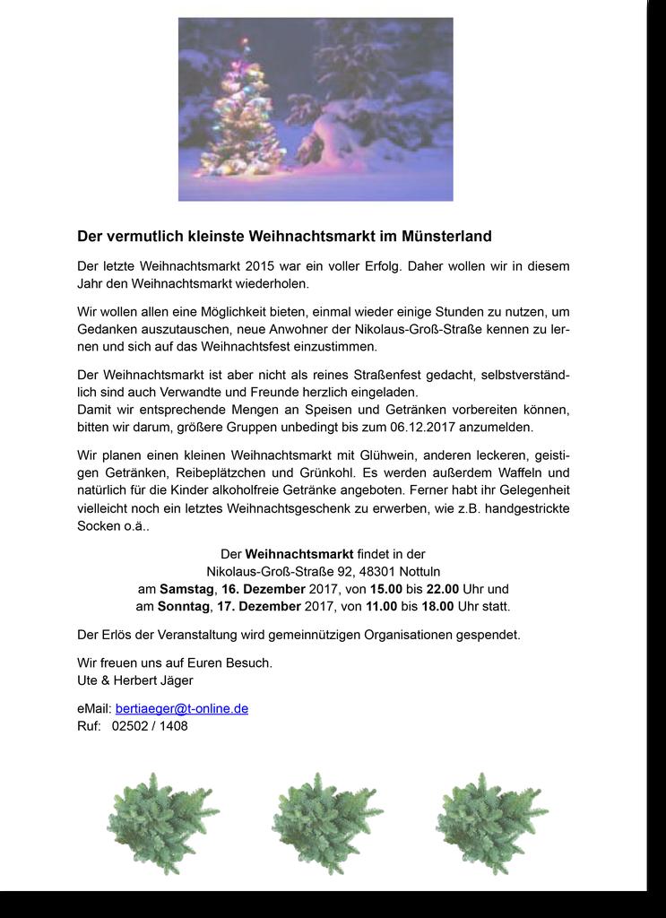 Charmant Weihnachtsmarkt Getränke Rezepte Galerie - Hauptinnenideen ...