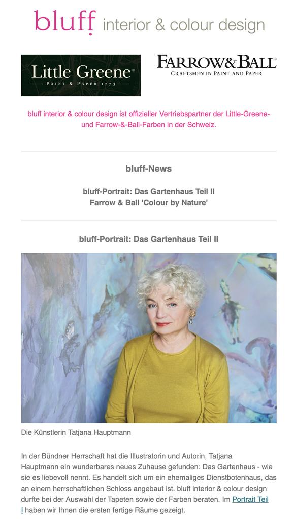 newsletter september 2019 - bluff interior & colour design ...