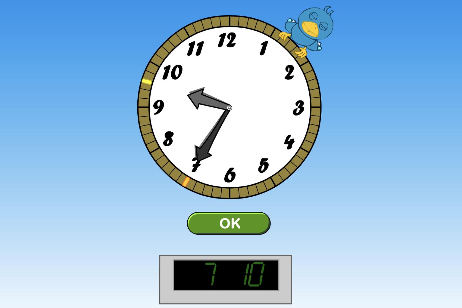 Uhrzeit Internet